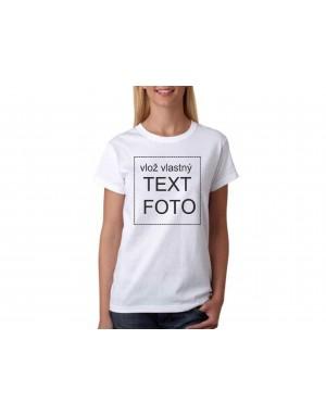 9d550bd999bf Dámske tričko s vlastným motívom